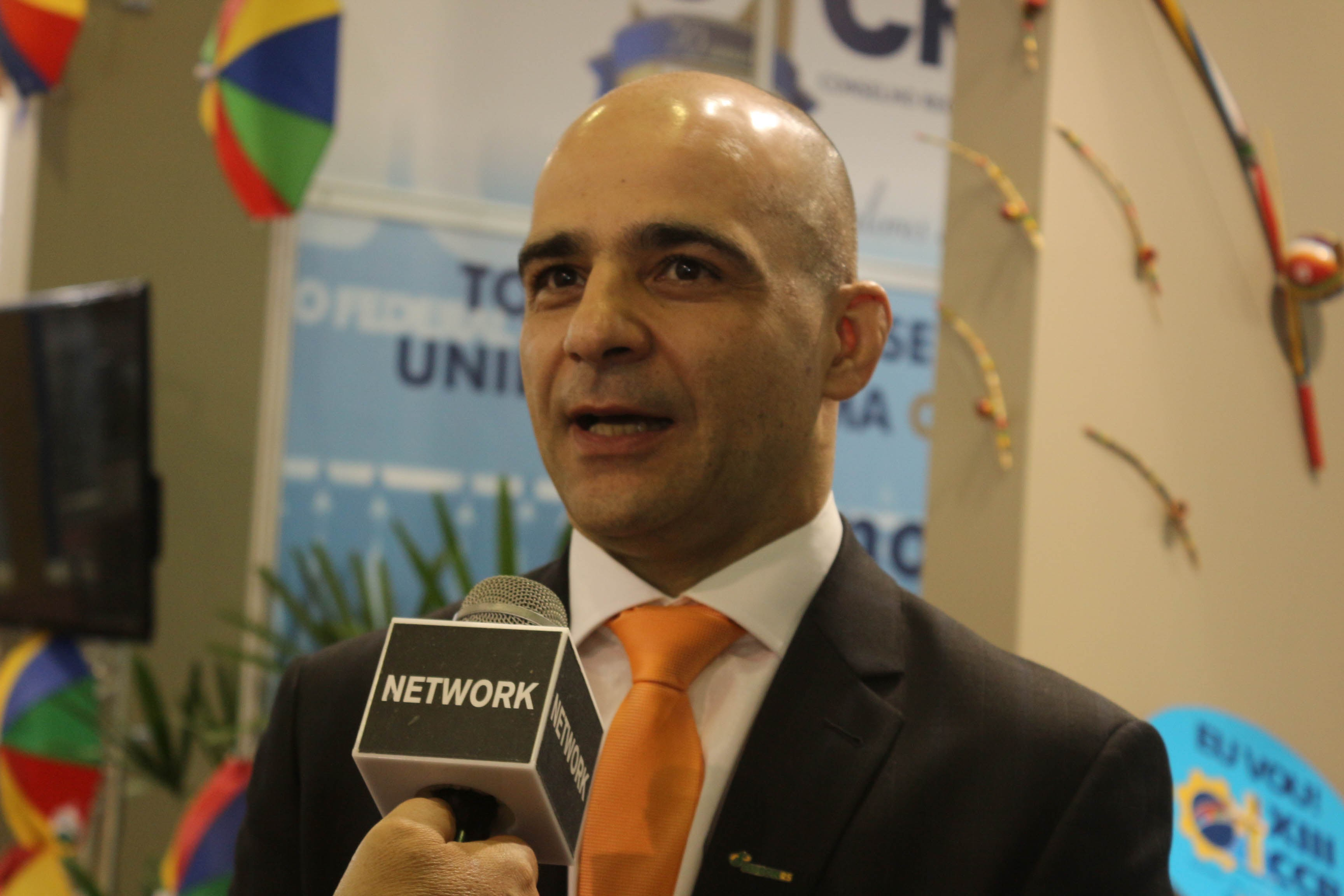 Diogo Chamun, presidente do Sescon-RS