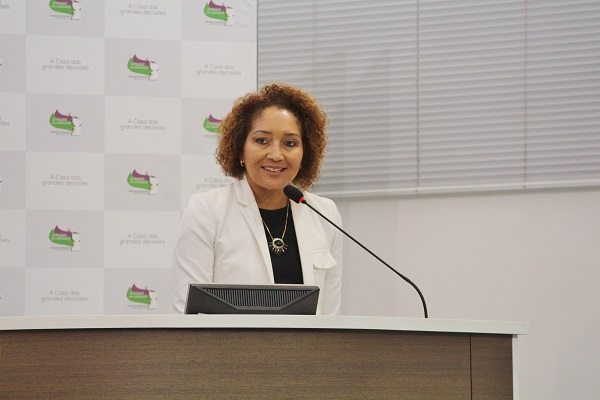Presidente do CRCRS, Ana Tércia L. Rodrigues