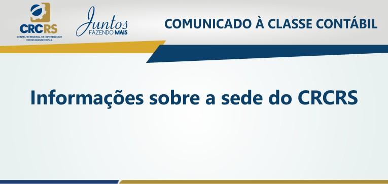 Comunicado à Classe Contábil